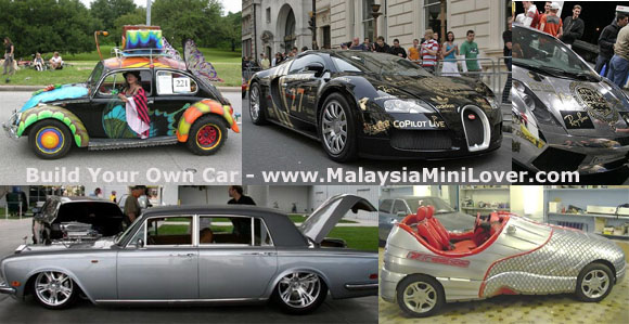 customized own car