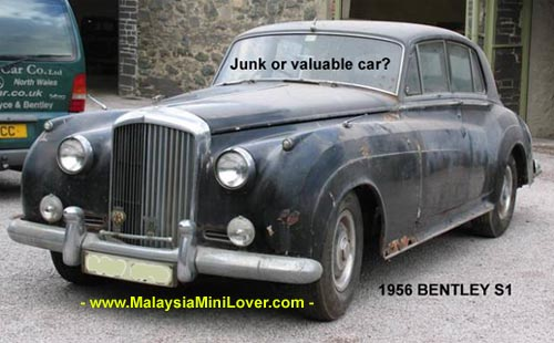 valuable classic car