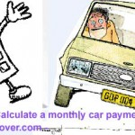 <b>Calculate a monthly car payment</b>