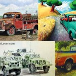 <b>Pencil drawings of cars trucks</b>