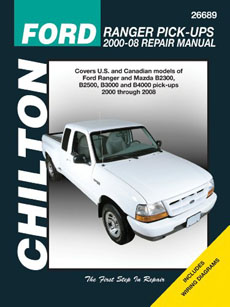 Chilton Ford Ranger repair manual