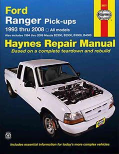 Ford ranger repair manual