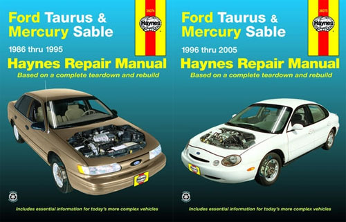 ford taurus mercury haynes manual