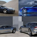 <b>Fisker Karma electric car</b>