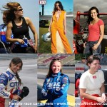 <b>Female race car drivers</b>