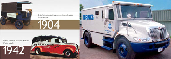 Brinks armored car