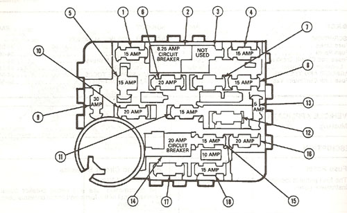Ford fuse box diagrams