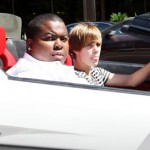 <b>Justin Bieber drives Lamborghini</b>