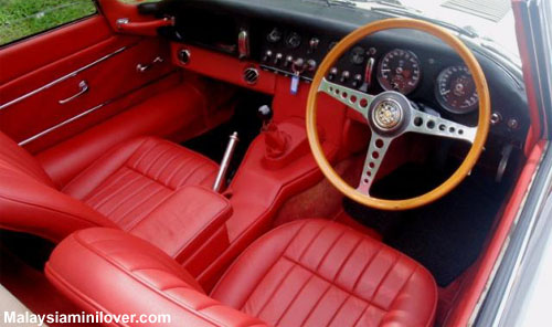 red leather seat cover