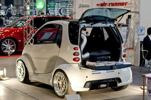pimped smart car