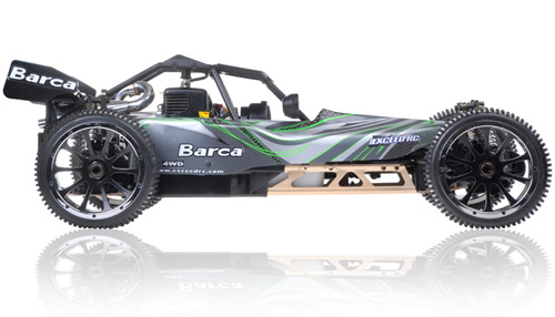 Barca gas-powered RC car