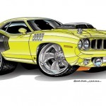 <b>Muscle Car Artwork</b>