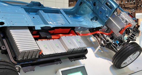 lithium-ion battery for Nissan Leaf hybrid