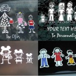 <b>Family Car Decals</b>
