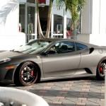 <b>Justin Bieber's Ferrari</b>