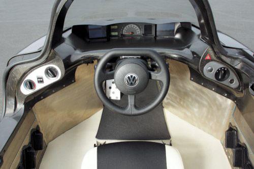 Volkswagen 1-litre interior
