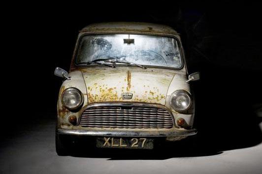 World's oldest surviving unrestored Austin Mini Seven De luxe saloon