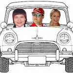 <b>Paris Hilton and Michael Schumacher ride my Mini Cooper</b>