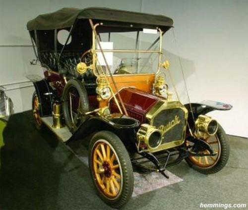 restored Buick Model 35