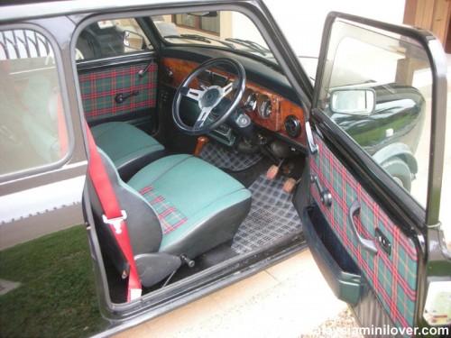 1995 Mini Tartan interior