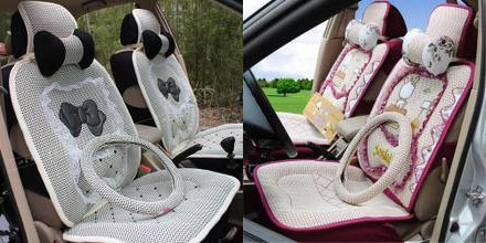 Cartoon car seat cover