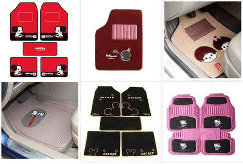 cute car floor mats