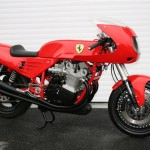 <b>World's one and only Ferrari motorcycle fetches £85,000</b>