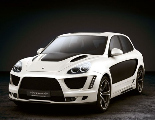 Customized Porsche Cayenne Gemballa Tornado