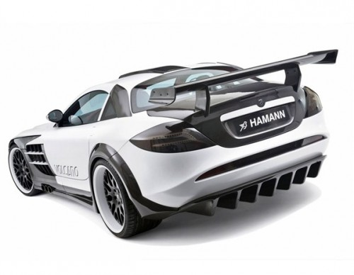 Hamann customized mercedes-benz SLR