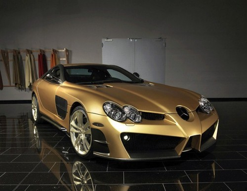 modified mercedes-benz slr