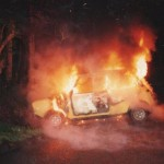 <b>Mini photos of the day: Clubman on fire</b>