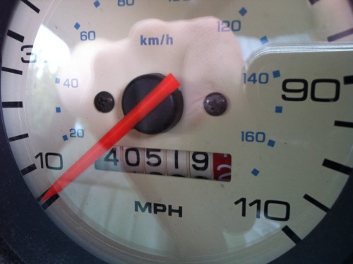 mini cooper meter