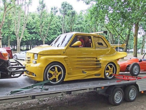 Ugly customize Fiat 126