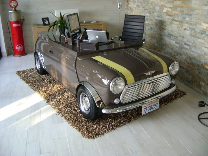 mini cooper table