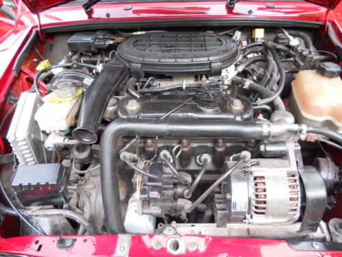 Mini classic Seven engine