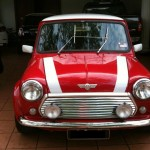<b>Hot and Spicy Chili Red Mini Cooper</b>