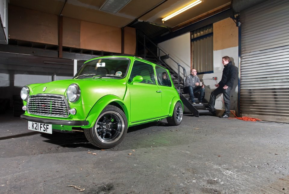 Ford ultimate green mini