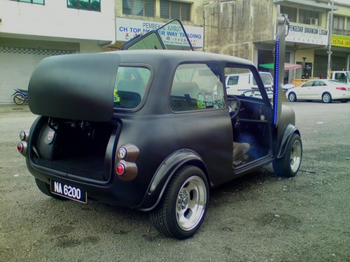Cool matte black mini