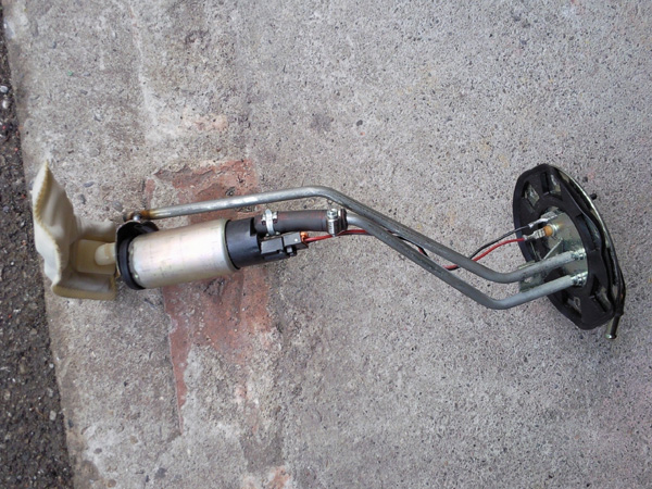 Modified Mini Cooper fuel pump