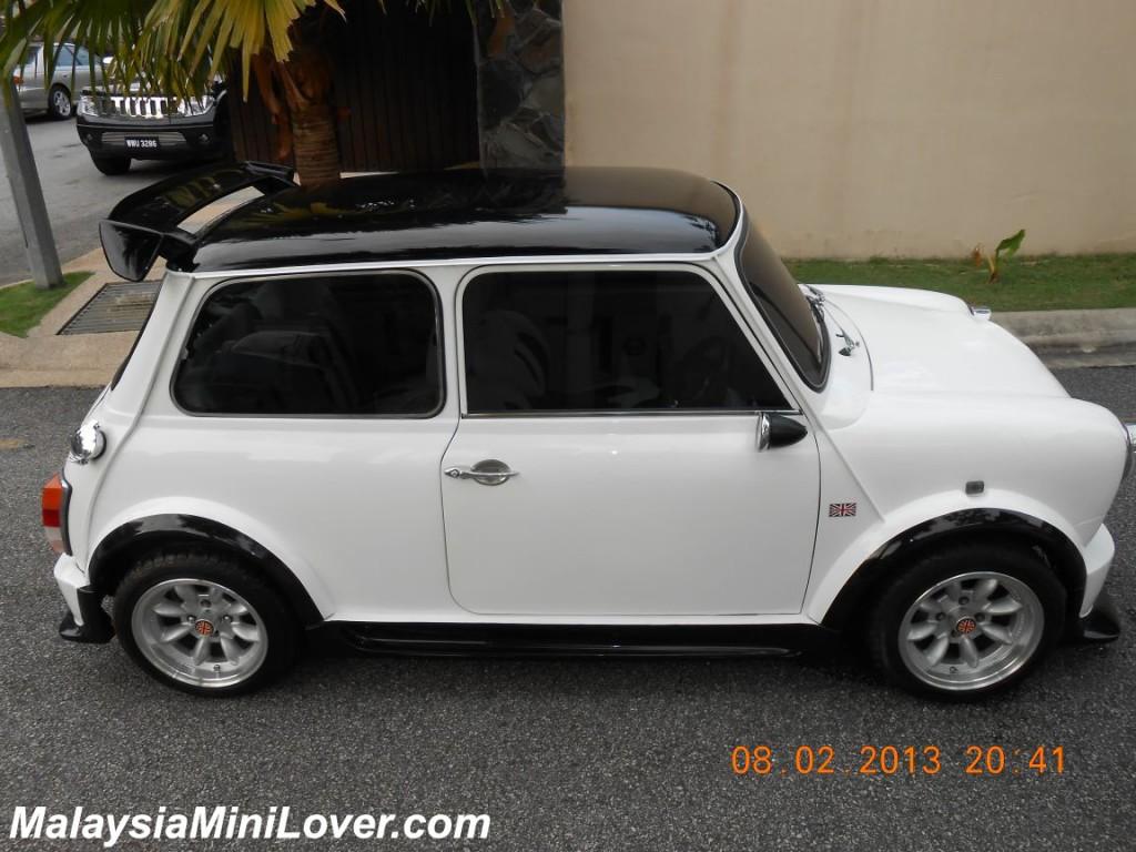 Mini Cooper White