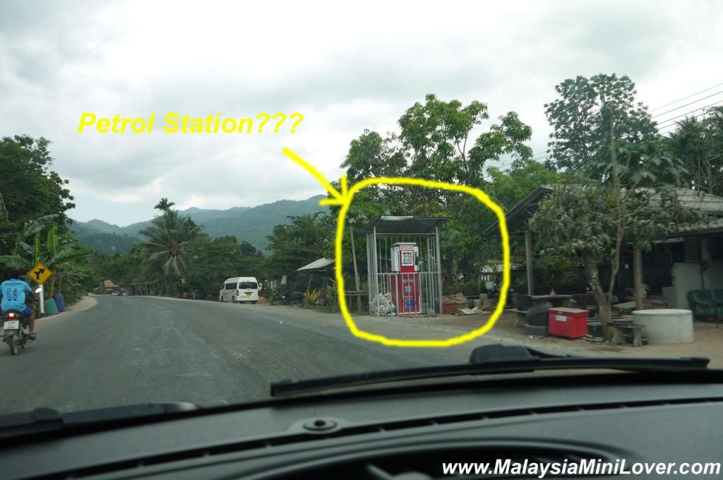 amazing petrol station