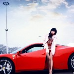 <b>When Pretty Girls Meet with Ferrari</b>