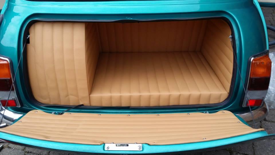 Austin Mini interior