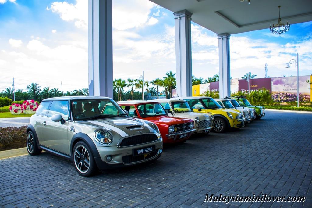 Mini Cooper gathering