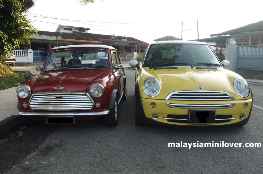New MINI Cooper vs Old Mini Cooper