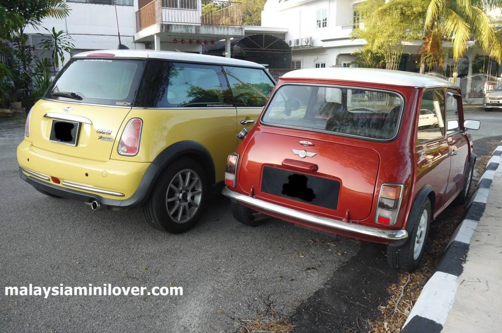 BMW MINI Cooper vs Classic Mini Cooper