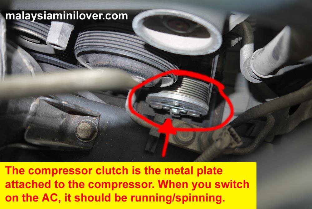 Honda Civic compressor clutch