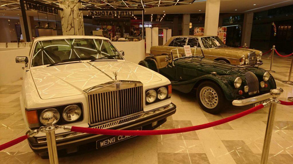 rolls-royce jaguar xk mercedes-benz w111 classic cars