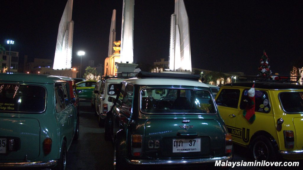 mini family club thailand gathering car event